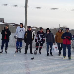 Хоккейный турнир в п. Баландино