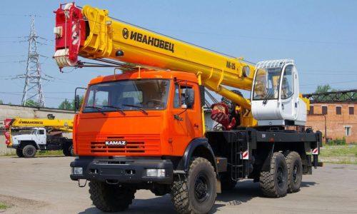 Автокраны (14 — 100 тонн)