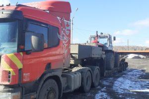 Доставка трактора Т-150К