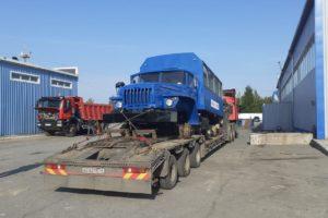 Доставка дорожной техники по маршруту в 6000км.